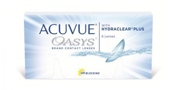 JOHNSON & JOHNSON ACUVUE OASYS with Hydraclear +
