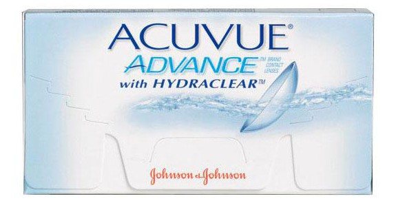 JOHNSON & JOHNSON ACUVUE ADVANCE with Hydra