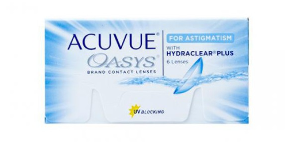 JOHNSON & JOHNSON ACUVUE OASYS for ASTIGMATISM